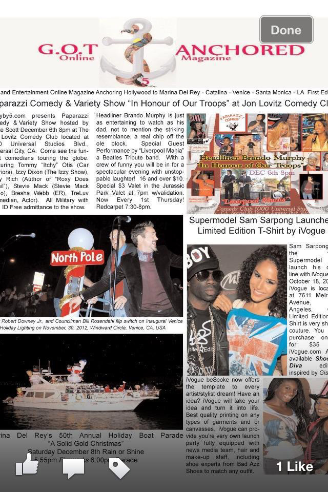 First Print Issue December 2010