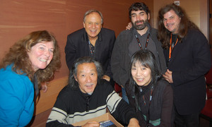"""Domo Recording Group with 2015 Grammy Nominated """"Kitaro"""" for """"Symphony in Istanbul"""" photo by Gisele """"Shooter Diva"""" Partyby5.com"""
