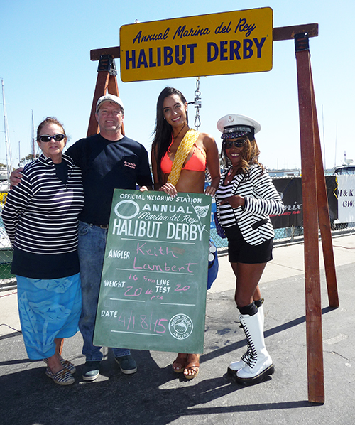 40th Annual Halibut Derby winner Keith Lambert