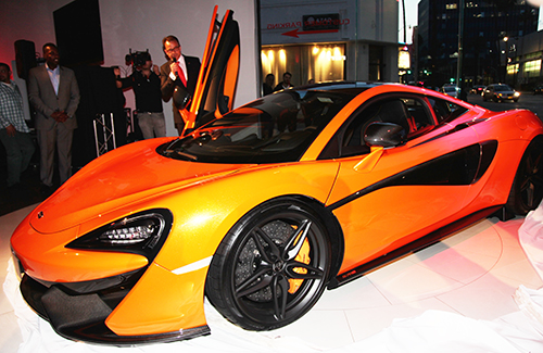 """The McLaren 570S Unveiling Gala – A """"McCrazy"""" McLaren 570S Launch in Beverly Hills"""