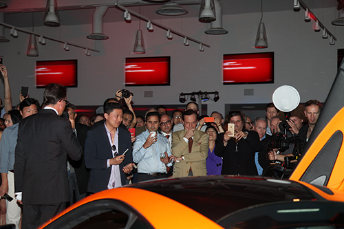 McLaren 570S Breaks the Internet at Unveiling Launch
