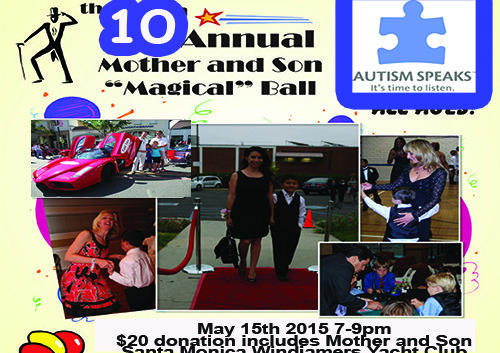 "10th Annual Mother And Son ""Magical"" Ball Hosted by Zack Purdy May 15, 2015"