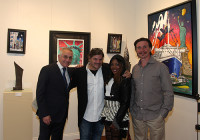 The Denis Bloch Fine Art Gallery in Beverly Hills played host to a Grand, Grand Opening Reception on May 7th