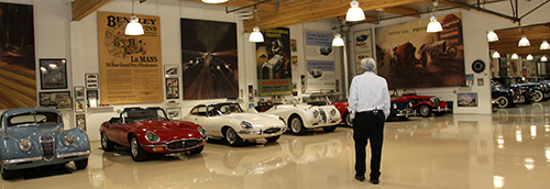 Jay Leno has collected cars for over 2 decades
