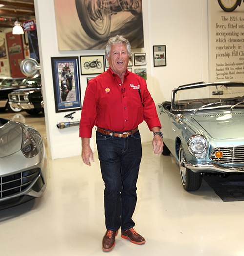 Racing Legend Mario Andretti