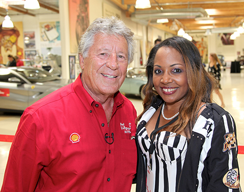 "Gisele ""Shooter Diva"" GOT Anchored Magazine Exclusive Interview with Racing Legend Mario Andretti"