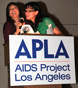 AIDS Walk Los Angeles Holds A Red Carpet Bash At Madame Tussaunds in Hollywood