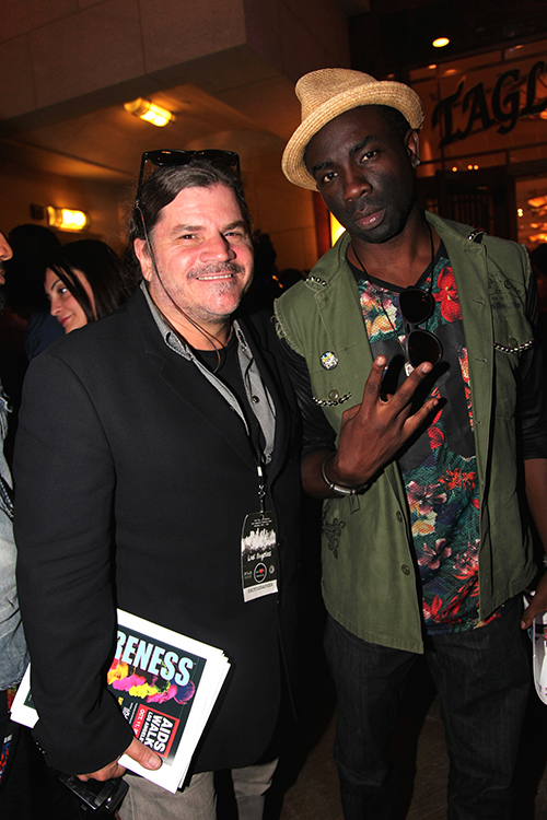 GOT Anchored Editor-in-Chief Craig Melone at one of Sam's last appearances during Fashion Week at Art Hearts Fashion