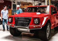 Franco & Damian Barbuscia Rock Jay Leno's Garage