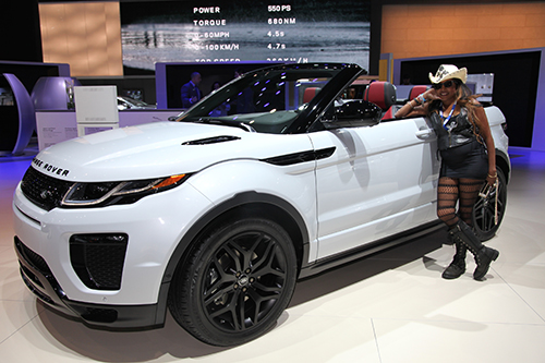 LA Auto Show 2016 – Convertible Range Rover Unveiled