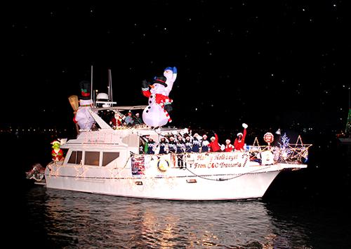 """Pastabilities"" Marina Del Rey Boat Parade 2006/2007"
