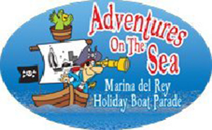 "53rd Annual Marina Del Rey Boat Parade Tomorrow December 12 – GOT Anchored Magazine and Partyby5.com Sponsor ""MVYC"" Yacht Club ""Let's GO"" Entry #29"