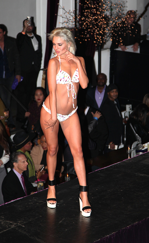 Courtney Allegra Holiday Swimsuit Collection