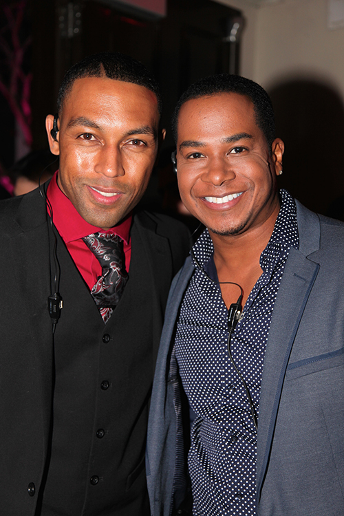 The Dynamic Duo Damion Dean and London Moore trendsetting the Celebrity Fashion Hollywood Scene