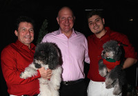 Olate Dogs Spread Holiday Cheer at LA Clippers Halftime Show