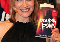 "Victoria Pratt's Booksigning of  ""Double Down"" on February 11, 2016 at Book Soup"