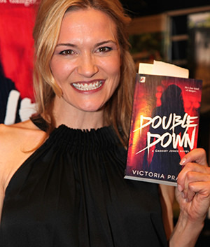 """Victoria Pratt's Booksigning of  """"Double Down"""" on February 11, 2016 at Book Soup"""