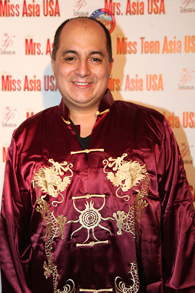 Steven Escobar (Publisher Diversity News Magazine) attending Miss Asia 2015 Beauty Pageant in Redondo Beach CA