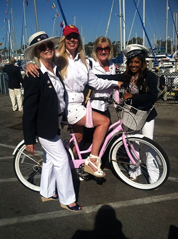 Opening Day Transportation is provided by Hornblower Cruises