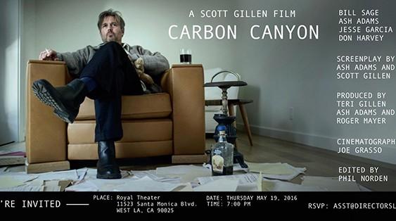 Carbon Canyon The Movie Los Angeles Premiere at Royal Laemmle