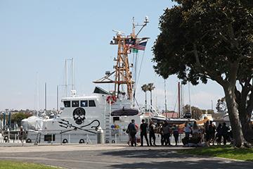 Sea Shepherd Visits Marina Del Rey