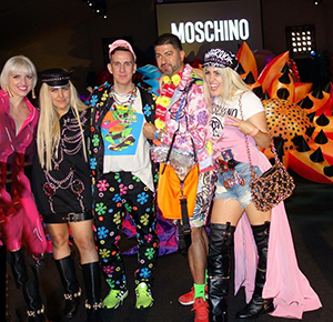 Cheers to Moschino SS17 MADE LA – Cindy Crawford son Presley Gerber Makes Runway Debut