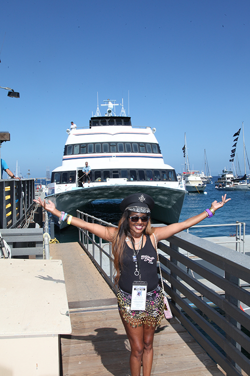 The Catalina Express Gets you to Buccaneer Days in 90 min or less!