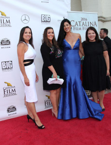 Catalina Film Festival Cast and Crew.  Jennifer Chidester (Modern PR), Steffanie Siebrand Host and JP