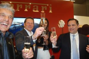 Cheers! To the Grand Opening of Ferrari Westlake