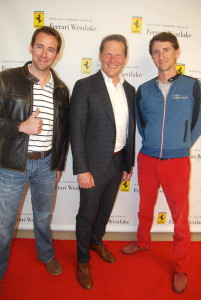 Fast Toys Club Founders Lyon Kassab and Chris with Ferrari Westlake . Great Place to get Race Day Ready!