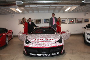 Fast Toys Club Founders Lyon Kassab and Chris Carel.  Custom Wrap Design by Alpha Restyling