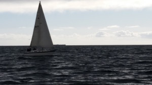 """S.S. Purple Reign""  racing in the 29th Annual MYC Dr. Robert Baker Regatta"