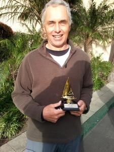 "2nd Place Winner 29th Annual MYC Dr. Robert Baker Regatta Skipper Dan McGanty ""Mistral"""