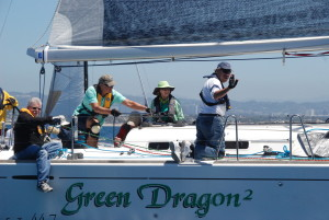 "2012 Dr. Robert Baker Regatta winner ""Green Dragon"""
