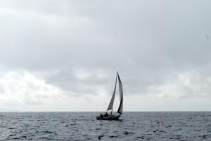 """Big Dream"", Skipper Mike Joy and crew MYC Port Captain Peter Griswold"