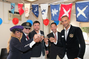 Marina Yacht Club Boat Owners Fleet give Toast to MYC Race Season Officially Open!