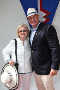 Marina Del Rey Sheriff's Harbour Master Brett Carlson attending Marina Yacht Club 43rd Annual Opening Day