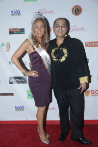 Cali Rossen, (Ms North Hollywood Woman Elite 2017) and Steven Escobar arrive at Diversity Pageants USA
