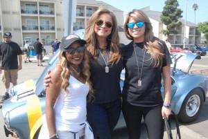 Gisele Rebeiro with Deputy Tanya Owens LASD