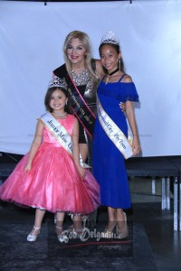 Queen Marie Bogacz, Mrs Diversity USA with guests Teyanah Sanders (Junior Miss Universal City 2017) and Deanara Aragon (Miss Pre Teen Universal City 2017)
