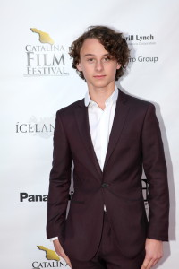 Wyatt Oleff winner Crest Award - Best Actor