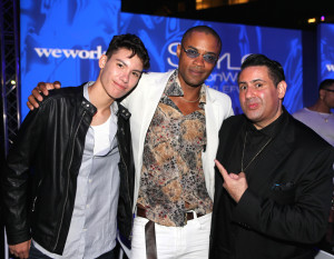 Kyoshi Matsuoka, Keith Cameron and Alexander Rodriguez attending Style Fashion Week SS18